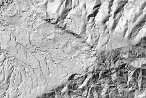 Bare Earth Hillshade from LiDAR Ground Points