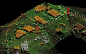 Aerial LiDAR provides a complete 3D as-built of the entire transmission ROW