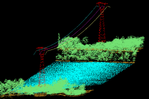 LiDAR provides the inspector the ability to review lines and corridor conditions with a high degree of accuracy on their desktop.